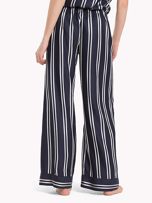TOMMY HILFIGER Contrast Stripe Trousers - NAVY BLAZER - TOMMY HILFIGER Bottoms - detail image 1