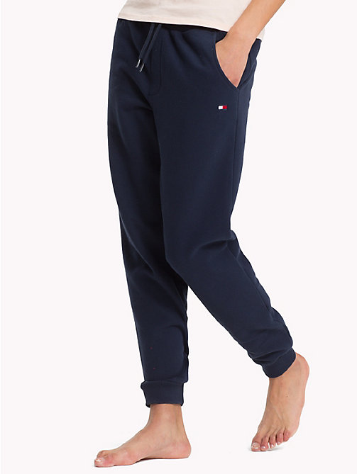 TOMMY HILFIGER Regular Tapered Cuff Joggers - NAVY BLAZER - TOMMY HILFIGER Bottoms - main image