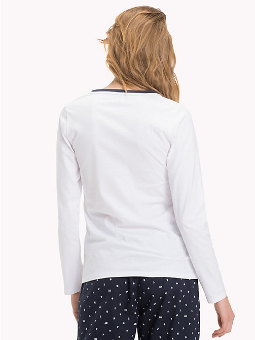 TOMMY HILFIGER Organic Cotton Top - WHITE - TOMMY HILFIGER Sustainable Evolution - detail image 1
