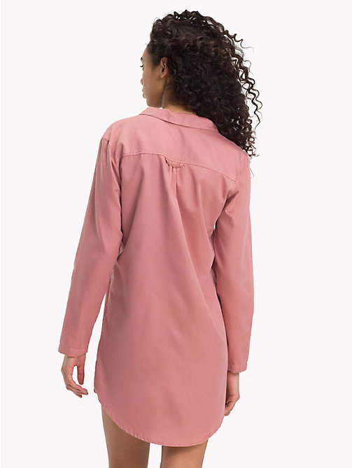 TOMMY HILFIGER Pocket Nightdress - ASH ROSE - TOMMY HILFIGER Lounge & Lingerie - detail image 1