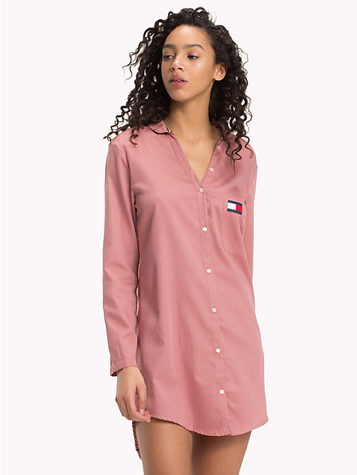 TOMMY HILFIGER Pocket Nightdress - ASH ROSE - TOMMY HILFIGER Lounge & Lingerie - main image