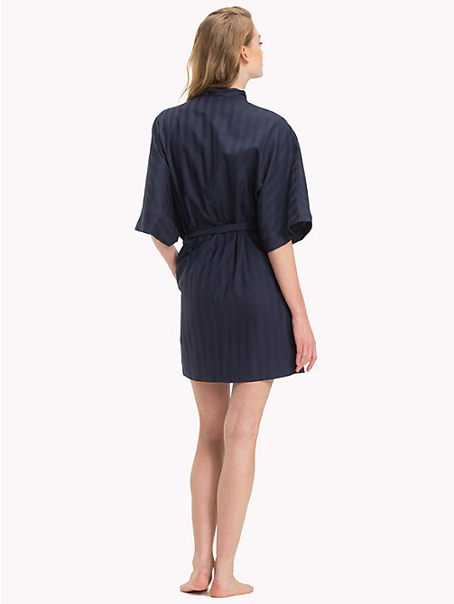 TOMMY HILFIGER Stripe Robe - NAVY BLAZER - TOMMY HILFIGER Night Dresses & Bathrobes - detail image 1