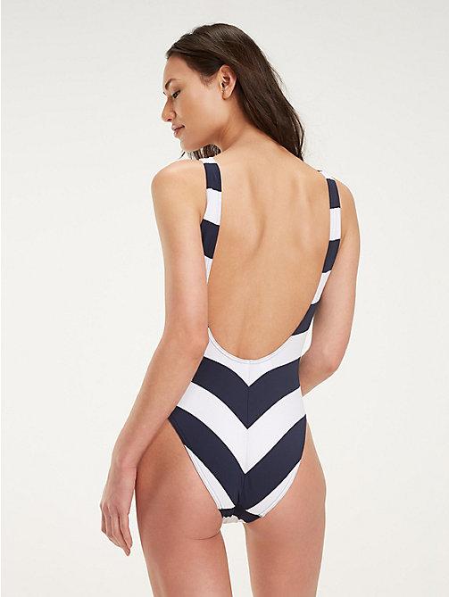 9507a362ca TOMMY HILFIGERStripe Piqué One-Piece Swimsuit. £86.00£60.00. -30%