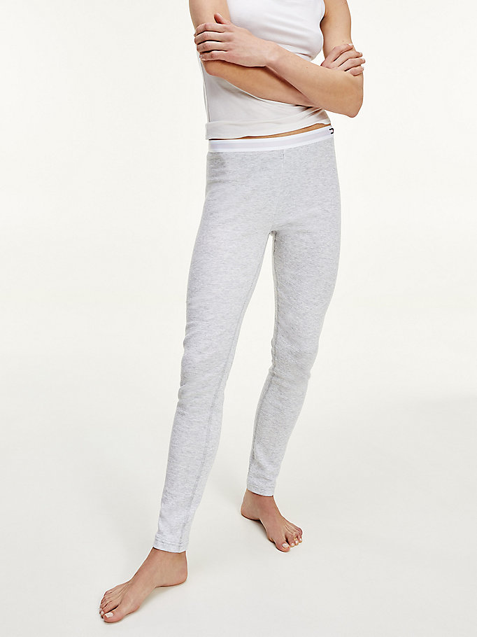 grey th warm thermal underwear for women tommy hilfiger