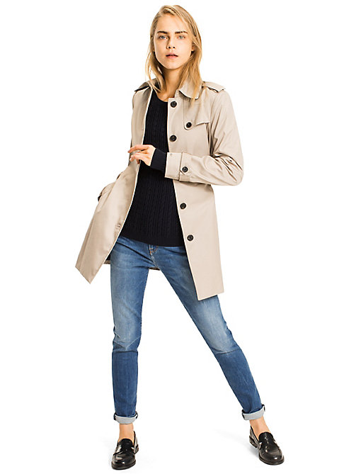 TOMMY HILFIGER Regular Fit Trenchcoat - MEDIUM TAUPE - TOMMY HILFIGER Mäntel & Jacken - main image 1