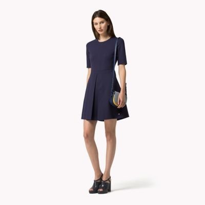 TOMMY HILFIGER Viscose Dress - ECLIPSE - TOMMY HILFIGER Dresses, Jumpsuits & Skirts - main image