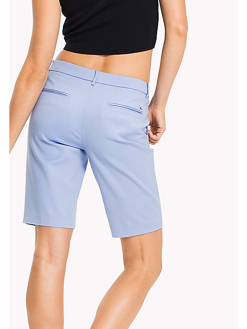 TOMMY HILFIGER Smart Slim Fit Bermuda Shorts - HYDRANGEA - TOMMY HILFIGER Trousers & Shorts - detail image 1