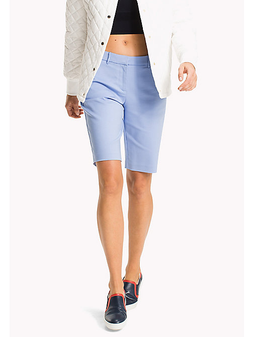 TOMMY HILFIGER Smart Slim Fit Bermuda Shorts - HYDRANGEA - TOMMY HILFIGER Trousers & Shorts - main image