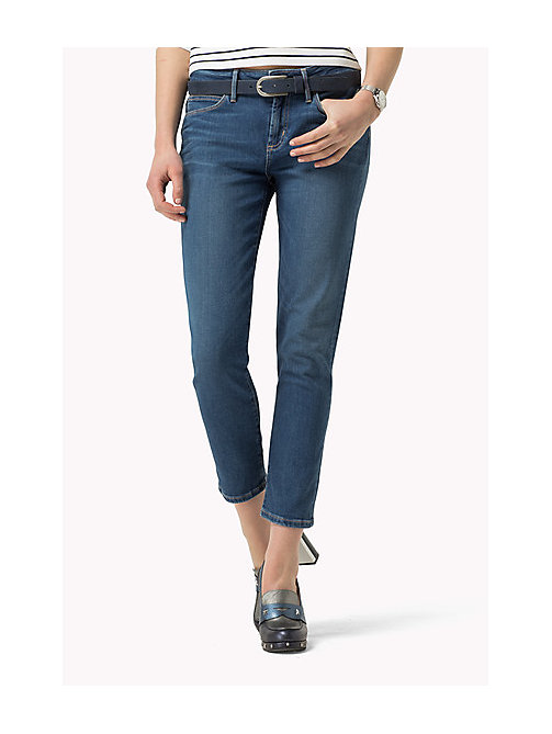 TOMMY HILFIGER Cropped Slim Fit Jeans - NEL - TOMMY HILFIGER Jeans - main image