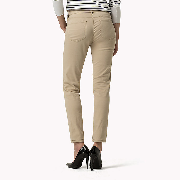 TOMMY HILFIGER Skinny Fit Jeans - PEACOAT - TOMMY HILFIGER Clothing - detail image 1