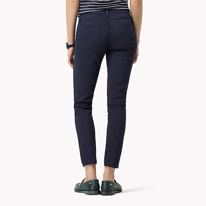 TOMMY HILFIGER Skinny Fit Jeans - SNOW WHITE - TOMMY HILFIGER Clothing - detail image 1