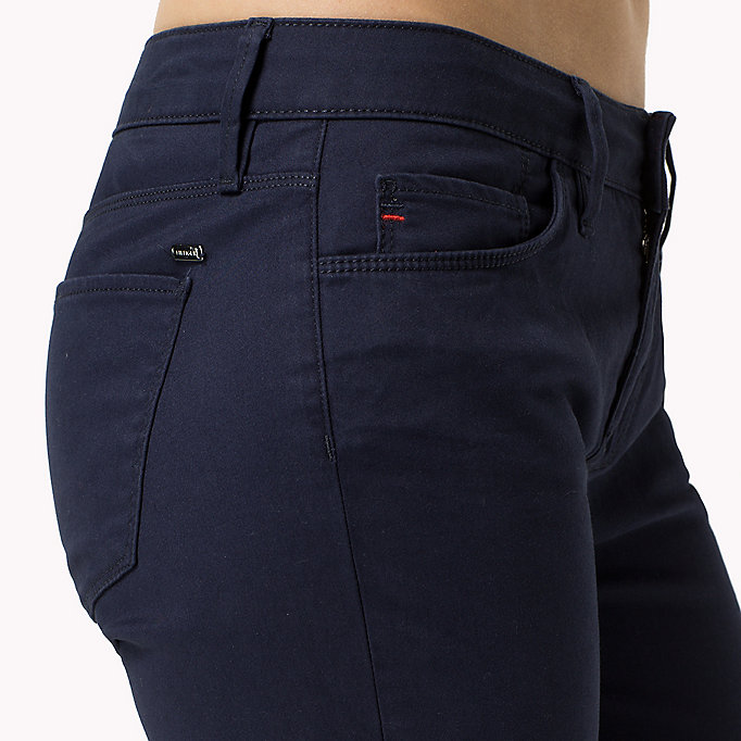 TOMMY HILFIGER Skinny Fit Jeans - SNOW WHITE - TOMMY HILFIGER Clothing - detail image 4