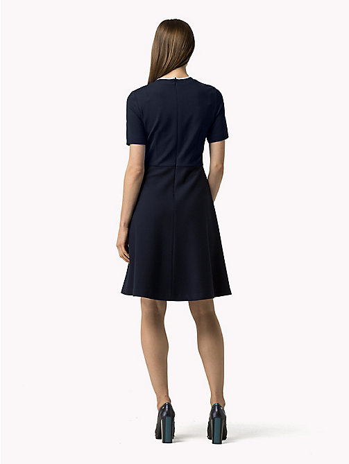 TOMMY HILFIGER Colour-block Dress - PEACOAT / OLYMPIAN BLUE - TOMMY HILFIGER Dresses, Jumpsuits & Skirts - detail image 1