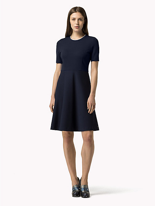 TOMMY HILFIGER Colour-block Dress - PEACOAT / OLYMPIAN BLUE - TOMMY HILFIGER Dresses, Jumpsuits & Skirts - main image