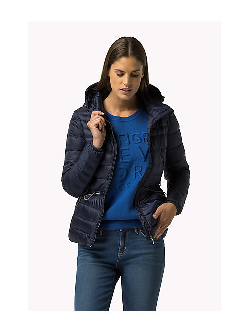 TOMMY HILFIGER Lightweight Down Jacket - PEACOAT - TOMMY HILFIGER Women - main image