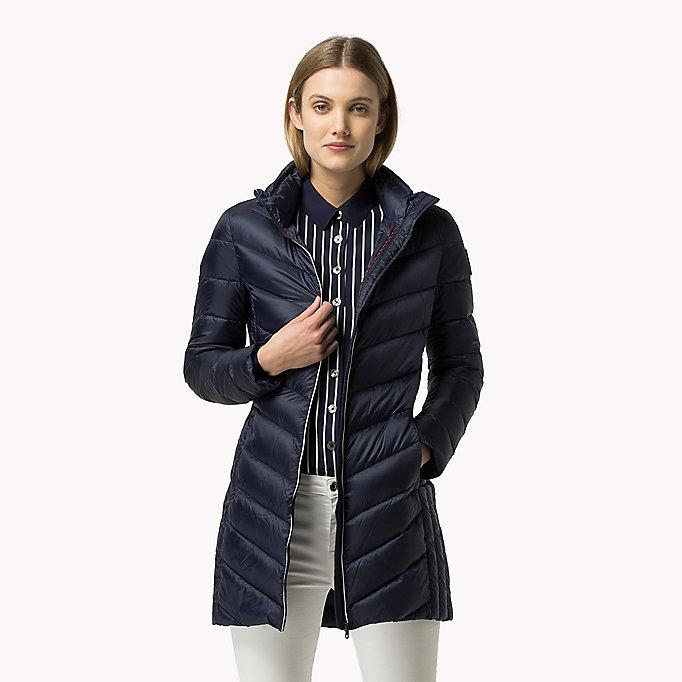 lightweight down coat tommy hilfiger official website. Black Bedroom Furniture Sets. Home Design Ideas