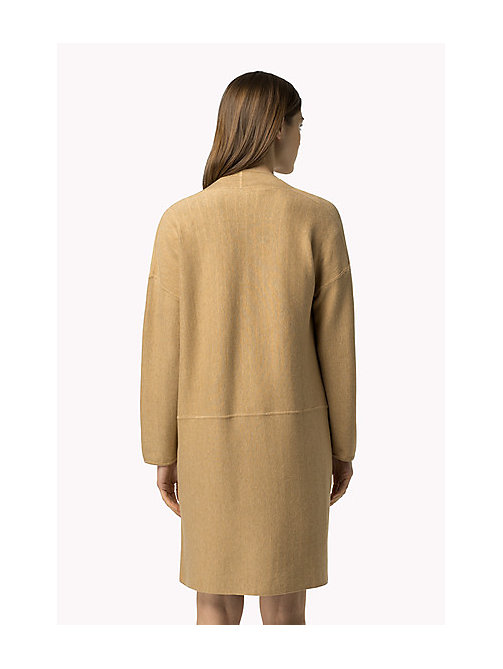 TOMMY HILFIGER Abrigo reversible - CLASSIC CAMEL HTR / SNOW WHITE / PEACOAT - TOMMY HILFIGER Mujer - imagen detallada 1