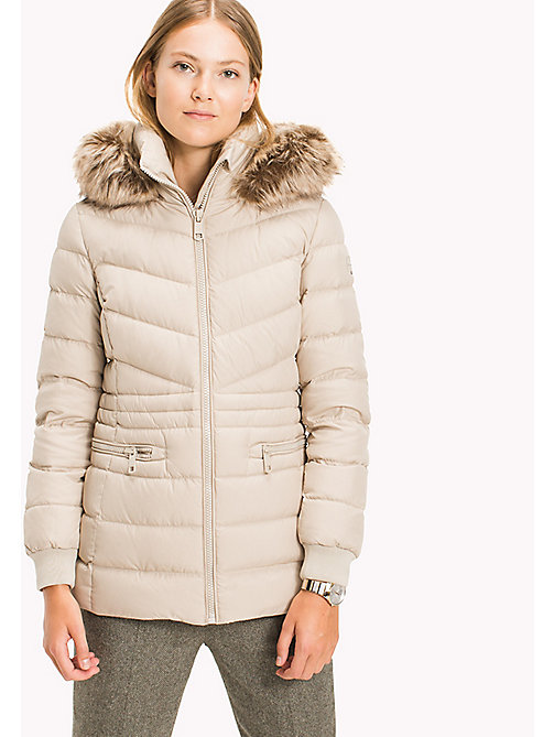 TOMMY HILFIGER Down Jacket - FEATHER GRAY - TOMMY HILFIGER Coats & Jackets - main image