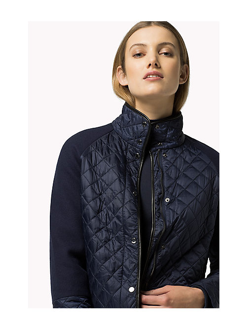 TOMMY HILFIGER Quilted Jacket - PEACOAT - TOMMY HILFIGER Coats & Jackets - main image