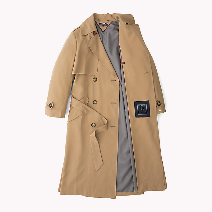 TOMMY HILFIGER Oversized Trench - ALLOY - TOMMY HILFIGER Clothing - detail image 5