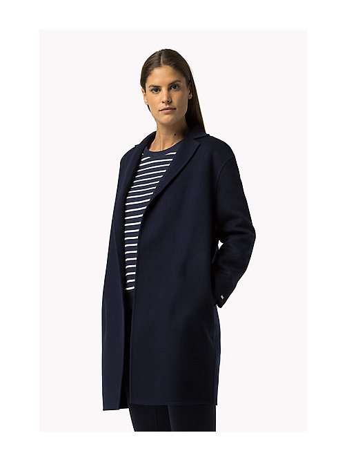 TOMMY HILFIGER Wool Blend Coat - PEACOAT - TOMMY HILFIGER Coats & Jackets - main image