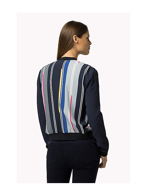 TOMMY HILFIGER Striped Bomber Jacket - HELLA STP - TOMMY HILFIGER Women - detail image 1