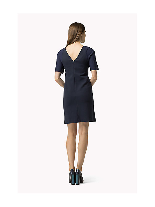 TOMMY HILFIGER A-line Dress - PEACOAT - TOMMY HILFIGER Dresses, Jumpsuits & Skirts - detail image 1