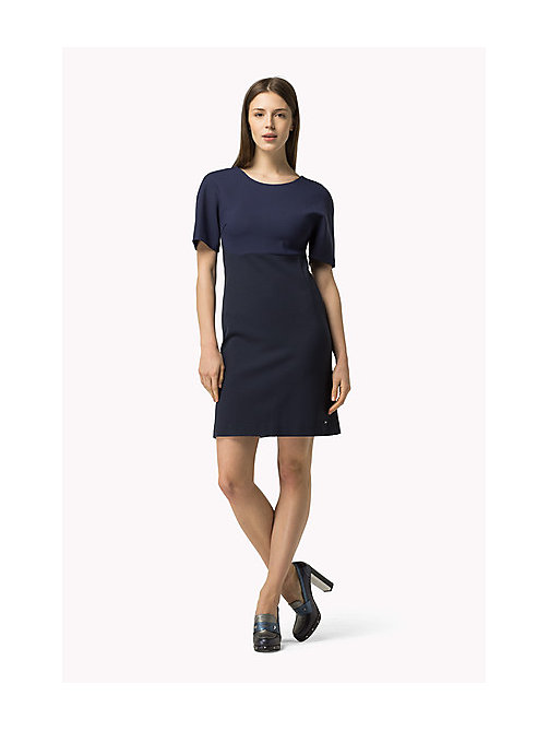 TOMMY HILFIGER A-line Dress - PEACOAT - TOMMY HILFIGER Dresses, Jumpsuits & Skirts - main image