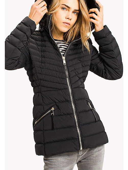 TOMMY HILFIGER Padded Slim Fit Jacket - BLACK BEAUTY - TOMMY HILFIGER Coats & Jackets - main image
