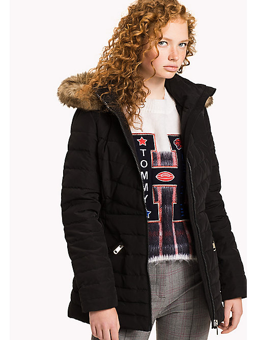 TOMMY HILFIGER Quilted Down Jacket - BLACK BEAUTY - TOMMY HILFIGER Coats & Jackets - main image