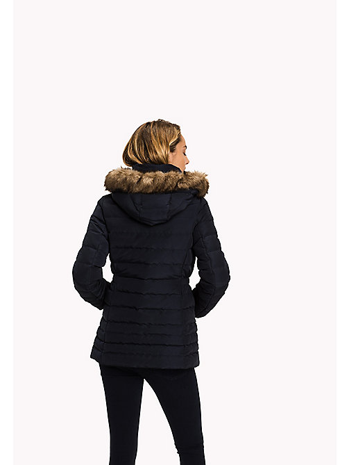 TOMMY HILFIGER Quilted Down Jacket - MIDNIGHT - TOMMY HILFIGER Coats & Jackets - detail image 1