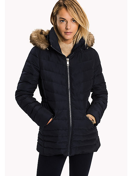 TOMMY HILFIGER Quilted Down Jacket - MIDNIGHT - TOMMY HILFIGER Coats & Jackets - main image