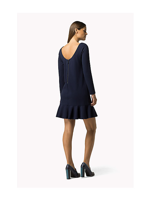 TOMMY HILFIGER Punto Milano Dress - PEACOAT - TOMMY HILFIGER Dresses, Jumpsuits & Skirts - detail image 1