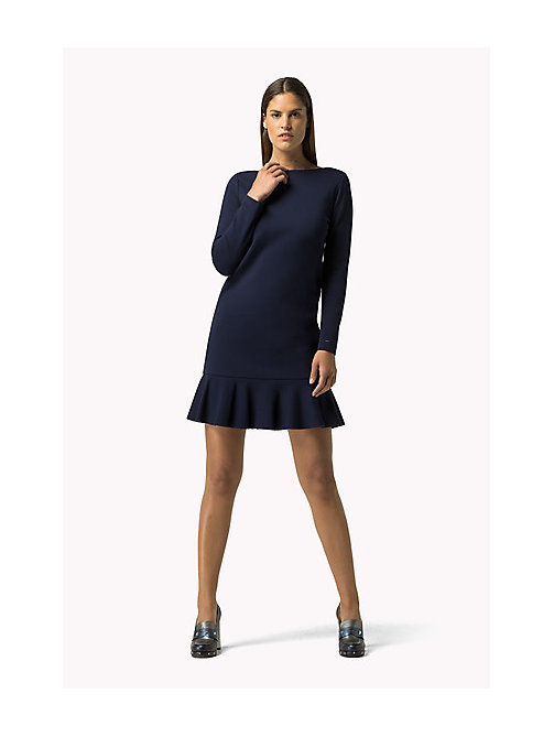 TOMMY HILFIGER Punto Milano Dress - PEACOAT - TOMMY HILFIGER Dresses, Jumpsuits & Skirts - main image