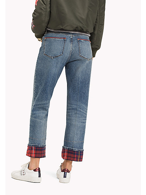 TOMMY HILFIGER Relaxed straight fit enkeljeans - ISABELLA - TOMMY HILFIGER Jeans - detail image 1