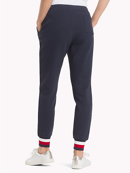 TOMMY HILFIGER Signature Tape Joggers - MIDNIGHT - TOMMY HILFIGER Clothing - detail image 1