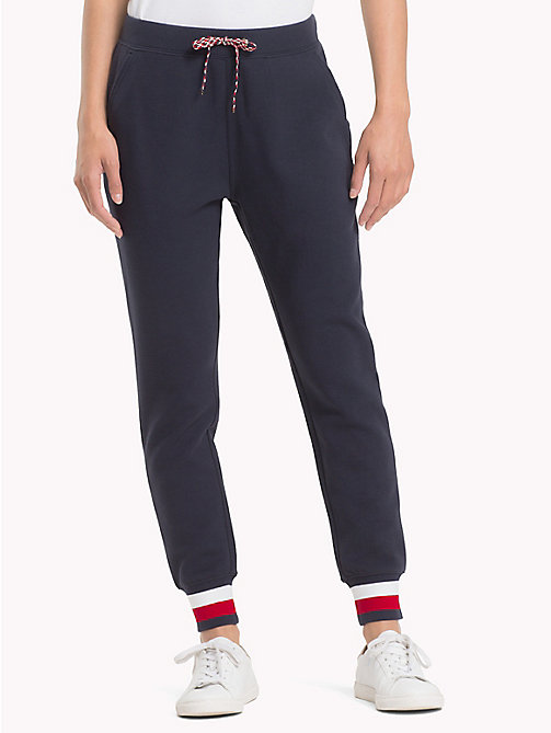 TOMMY HILFIGER Signature Tape Joggers - MIDNIGHT - TOMMY HILFIGER Trousers & Shorts - main image