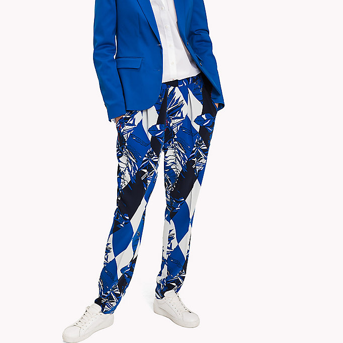 TOMMY HILFIGER Regular Fit Trousers - ANIMAL PRT - TOMMY HILFIGER Clothing - main image