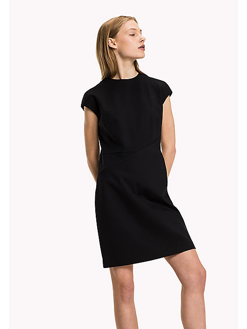 TOMMY HILFIGER Punto Milano Fitted Dress - BLACK BEAUTY - TOMMY HILFIGER Dresses, Jumpsuits & Skirts - main image