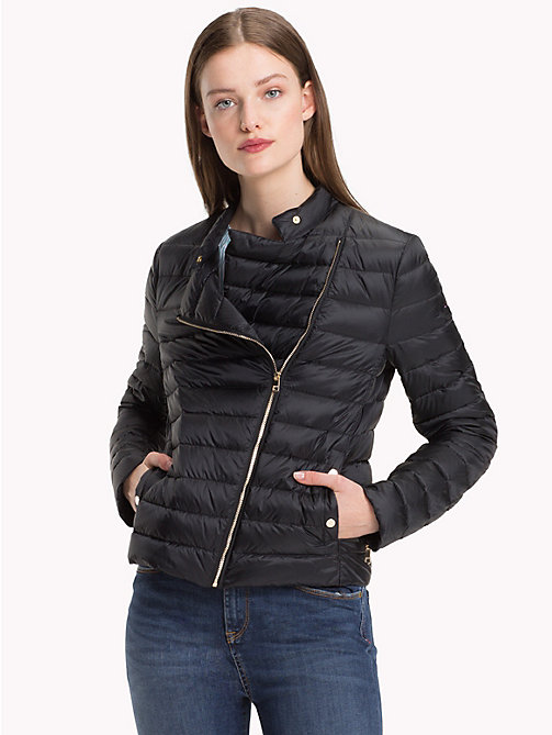TOMMY HILFIGER Responsibly Sourced Down Jacket - BLACK BEAUTY - TOMMY HILFIGER Sustainable Evolution - main image