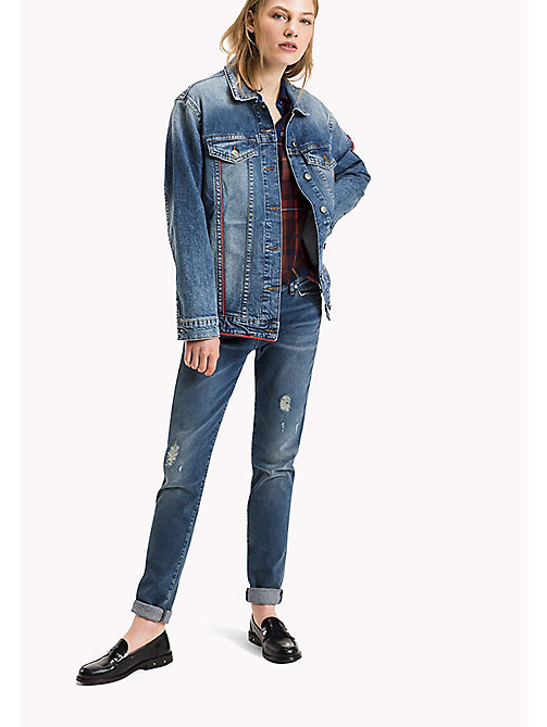 TOMMY HILFIGER Denim Trucker Jacket - ISABELLA - TOMMY HILFIGER Coats & Jackets - main image