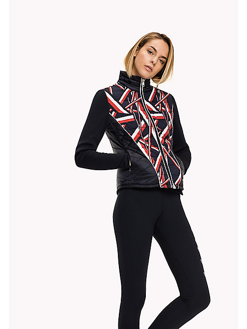 TOMMY HILFIGER Athletic Slim Fit Thermore Jacket - MIDNIGHT / GLOBAL STP PRT MIDNIGHT - TOMMY HILFIGER Women - main image