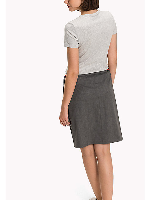 TOMMY HILFIGER Wool Blend Skirt - MEDIUM GREY HTR - TOMMY HILFIGER Dresses, Jumpsuits & Skirts - detail image 1