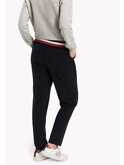TOMMY HILFIGER Striped Pull-On Trousers - MIDNIGHT - TOMMY HILFIGER Trousers & Shorts - detail image 1