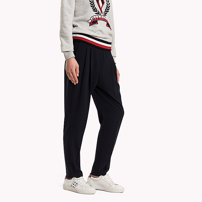 TOMMY HILFIGER Striped Pull-On Trousers - SMALL BLAZER STP MIDNIGHT - TOMMY HILFIGER Clothing - detail image 2
