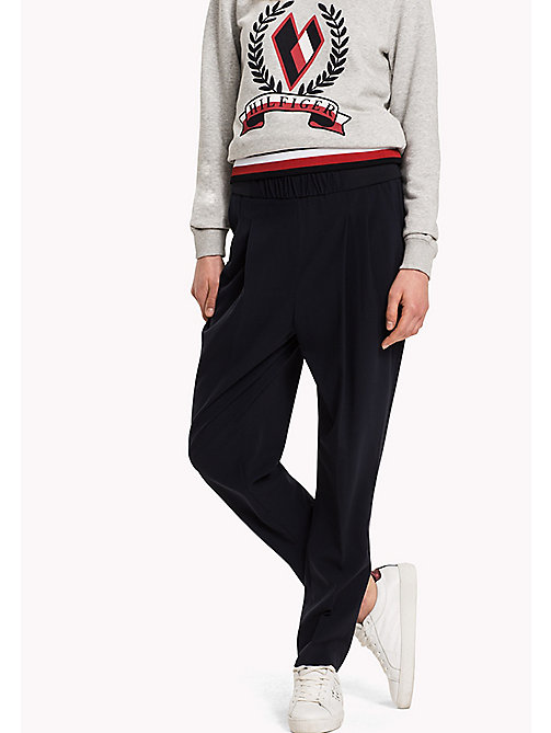 TOMMY HILFIGER Striped Pull-On Trousers - MIDNIGHT - TOMMY HILFIGER Trousers & Shorts - main image
