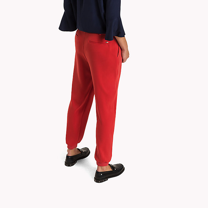 TOMMY HILFIGER Tailored Regular Fit Jogging Trousers - BLACK BEAUTY - TOMMY HILFIGER Clothing - detail image 1