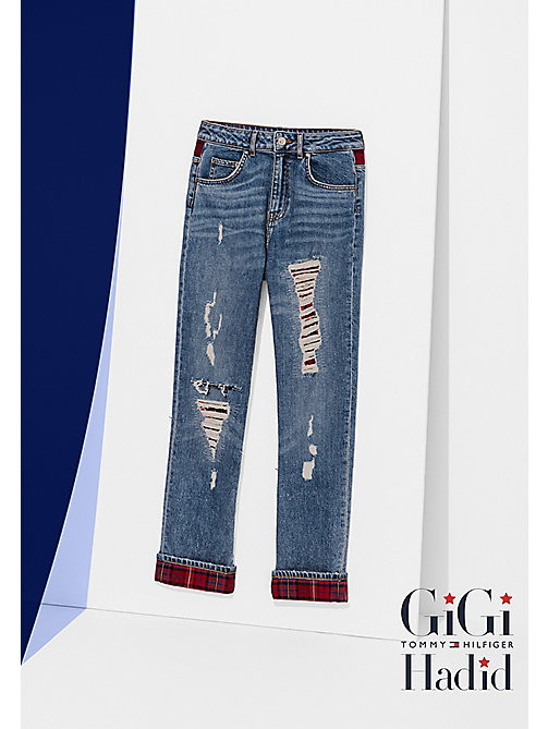 TOMMY HILFIGER Relaxed fit jeans Gigi Hadid - LEXI - TOMMY HILFIGER Jeans - main image