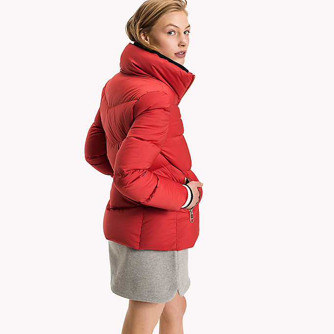 TOMMY HILFIGER Iconic Down Jacket - SNOW WHITE - TOMMY HILFIGER Clothing - detail image 1