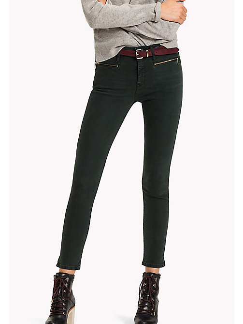 TOMMY HILFIGER Skinny Fit Ankle Jeans - GREEN GABLES - TOMMY HILFIGER Jeans - main image